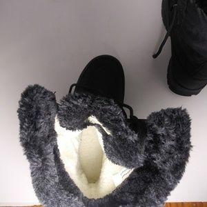 Kamik Shoes - Kamik Brooklyn Black Winter Waterproof Boots Sz8